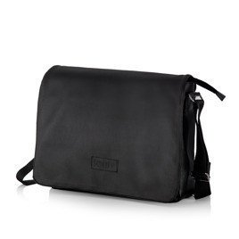 Black men`s shoulder bag S11