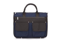 Men's modern briefcase Solier GALSTON