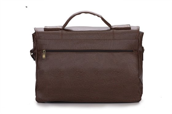 Casual urban shoulder bag LANARK vintage brown