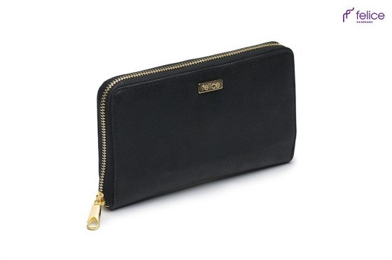 Elegant Women's wallet P04 black dubai