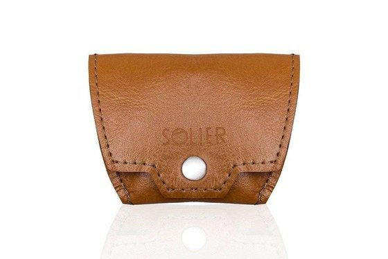 Men's leather accessories set SOLIER SW11 SET