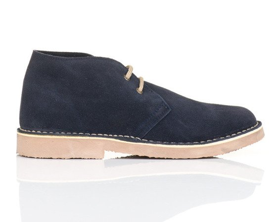 Men's stylish leather Chukka shoes / boots