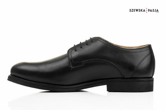 Oxford shoes style - genuine leather