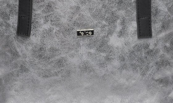 Shopper bag Felice Verona Uno - silver