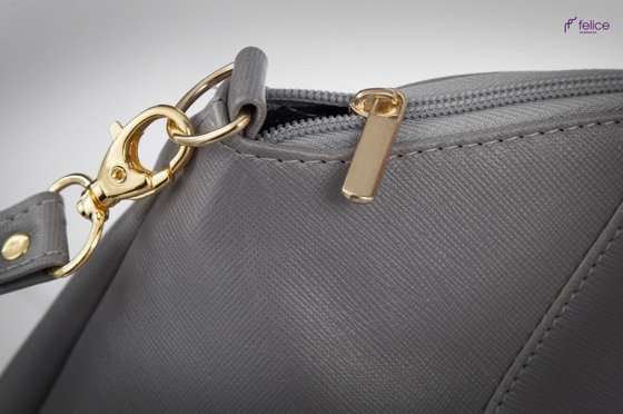 Women's shoulder bag Dublin grey