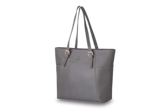 Women's shoulder bag Lisbona grey