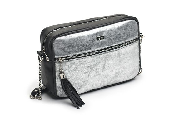 LISTONOSZKA CROSSBODY FB02 GALAXY SILVER